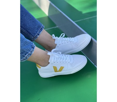 BFD018 WHITE/YELLOW